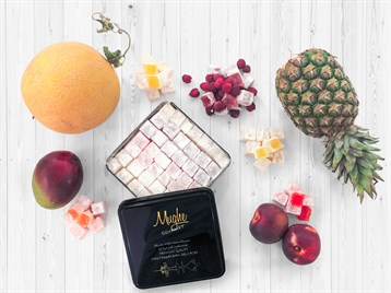 Mix Plain Tropical Breeze Turkish Delight Raspberry - Peach - Melon - Mango - Ananas